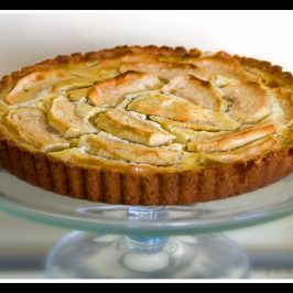 Waiter, There Is Something in my Topless Alsatian Apple Tart!
