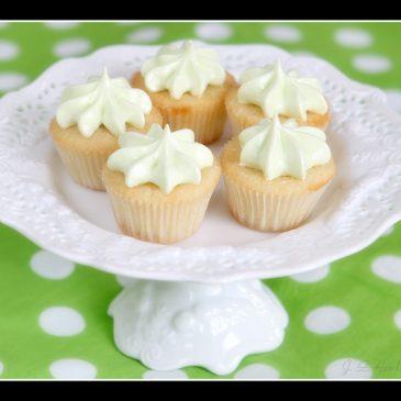 Coconut Key Lime Mini Cupcakes