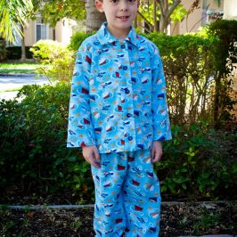 McCalls 6458 Children's Pajama Tops and Bottoms