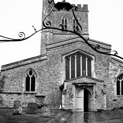 St. Mary's Church through gate