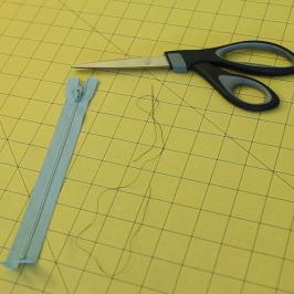 Video Tutorial: How to Shorten a Zipper