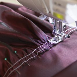 Making the Effie Trinket Costume, Part 1: The Jacket, or How to Make Puffy Sleeves