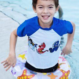 McCall's 6548: Boys Swim Shirt