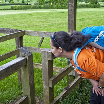 What else are you supposed to do at kissing gates? ;)