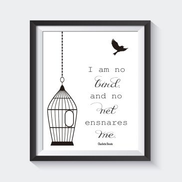 Literary Quotes Prints