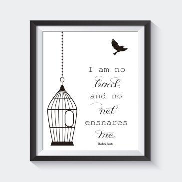 Literary Quotes Prints