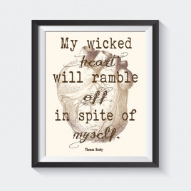 """My Wicked Heart.""  – Downloadable Print"