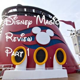 Disney Magic Review Part 1- Embarkation Day