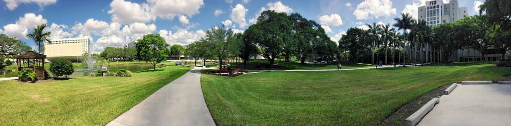 Florida International University Panorama