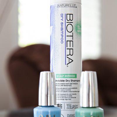 OPI Nail Polish and Biotera Dry Shampoo