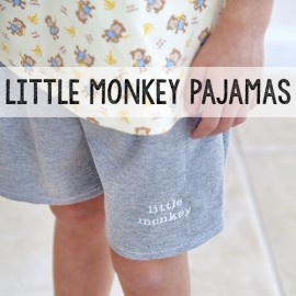 Little Monkey Pajamas