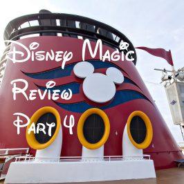 Disney Magic Review Part 4 – Entertainment