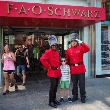 The Monkey Visits FAO Schwarz