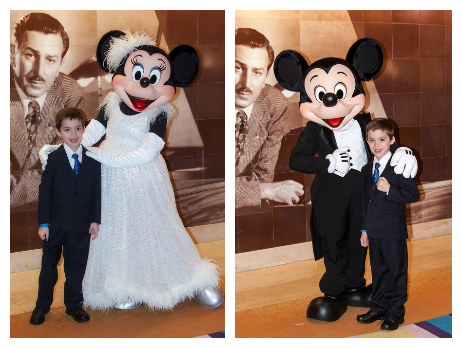 Formal Mickey and Minnie