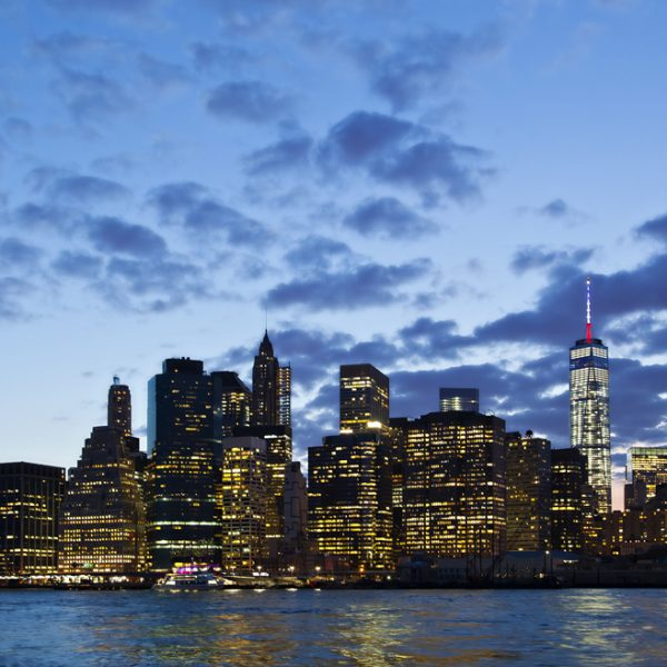 Manhattan Financial Distrcit and Brooklyn Bridge. Shot with Canon EOS 5D mkii