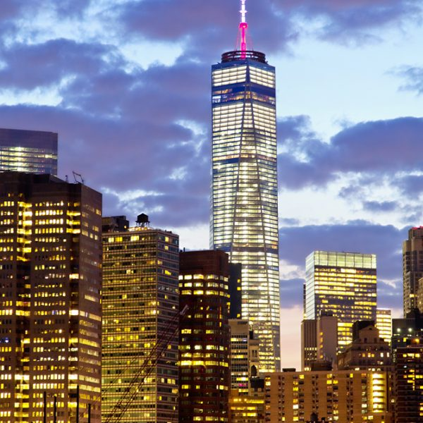One World Trade Center. Shot with Canon EOS 5D mkii