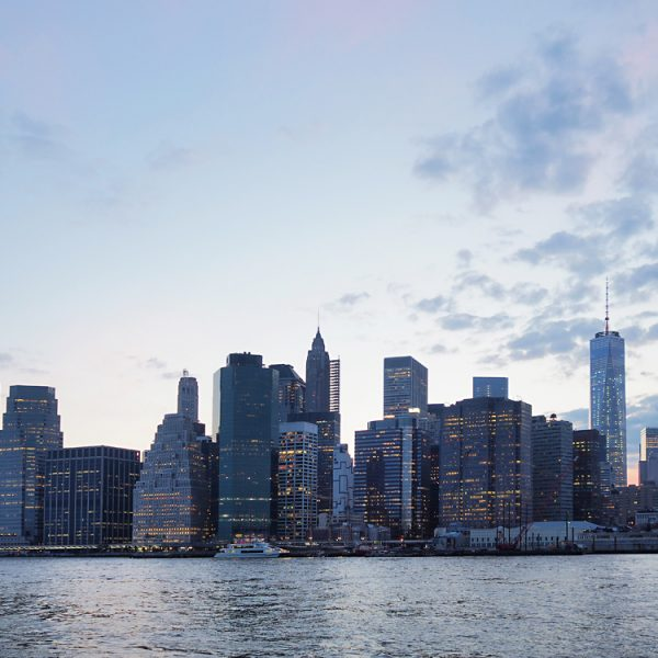 Manhattan Financial Distrcit. Shot with Olympus OM-D E-M5 mkii
