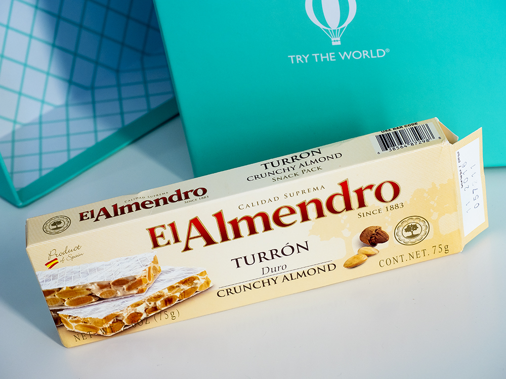 Try the World turron