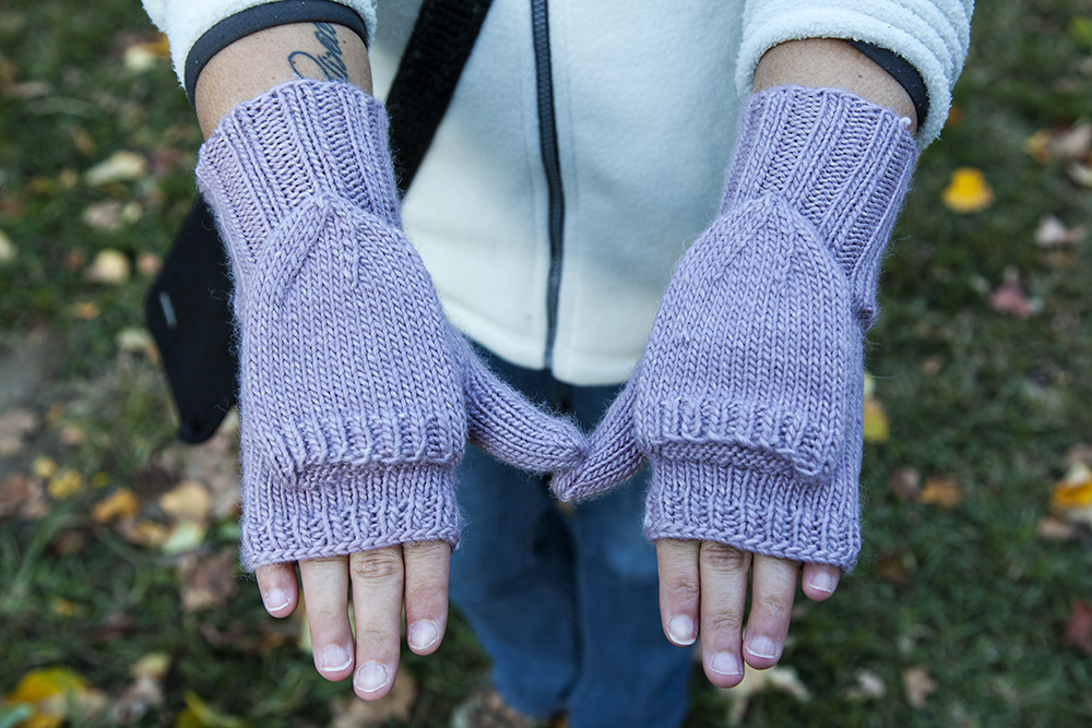 Knitting: Mittens!   The Serial Hobbyist Girl