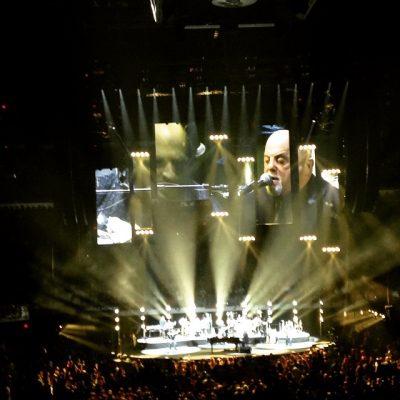 Saw Billy Joel in concert.