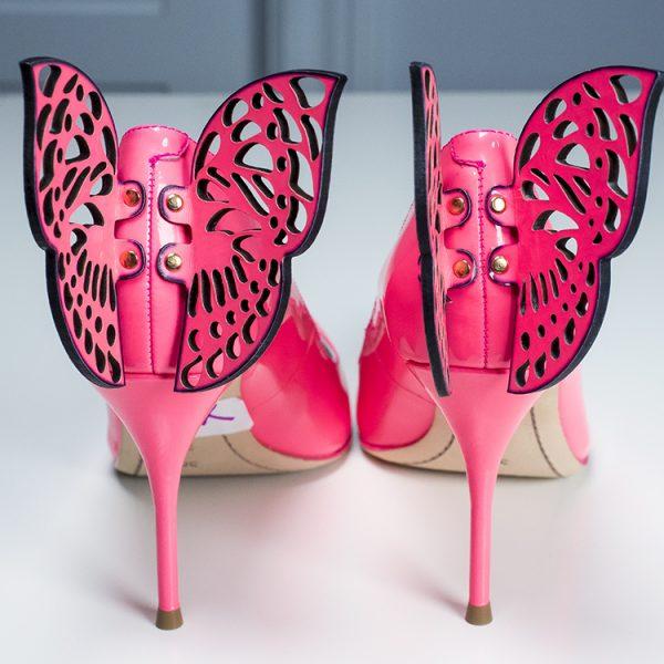 Sophia Webster Yara Butterfly Pumps