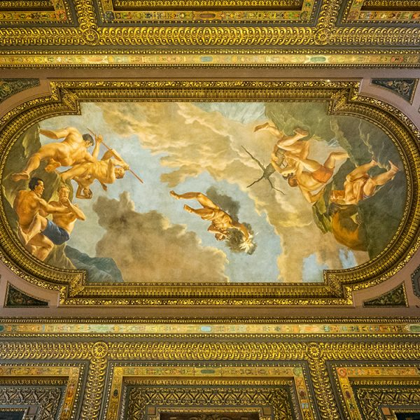 Ceiling at the New York Public Library