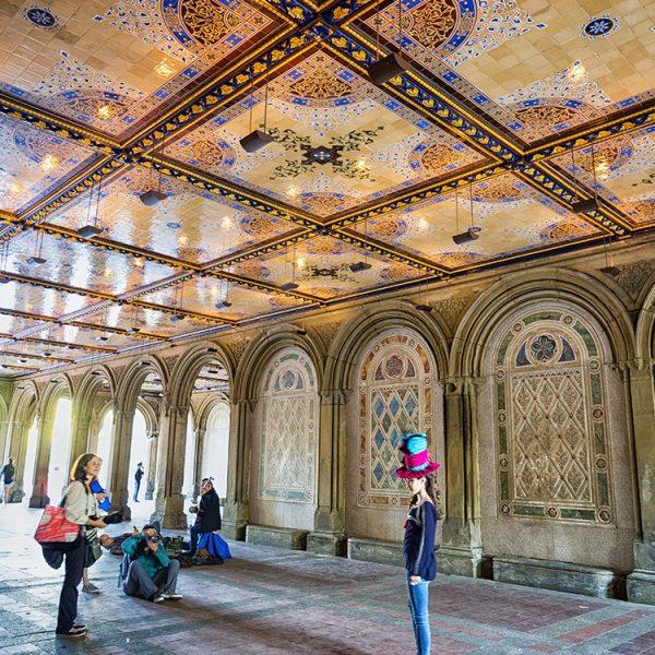 Bethesda Arcade, Central Park