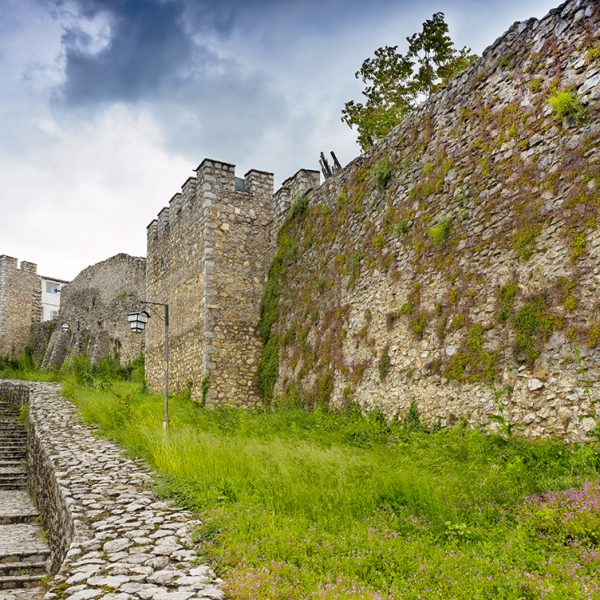 Ohrid city walls.
