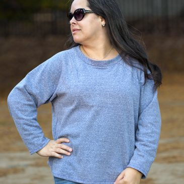 BurdaStyle 10/2016 #114 Pullover