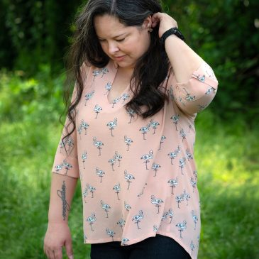 Butterick 5997: The Flamingo Blouse