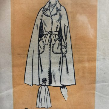 The Making of a Cape Coat, Part 1: Introduction