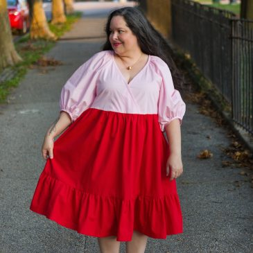 McCall's 7969, or the Strawberry Shortcake Cottagecore Nap Dress