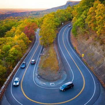 Shawangunk Mountains Scenic Byway in Summer and Fall
